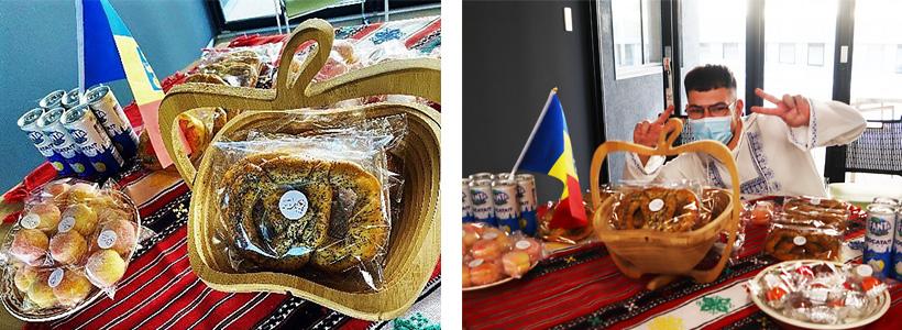 ルーマニアのお菓子とルーマニア人留学生