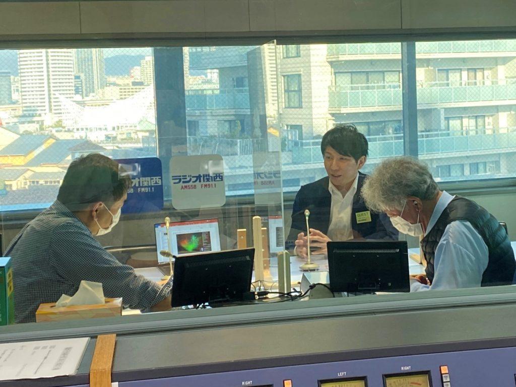 ラジオ関西 スタジオ収録風景