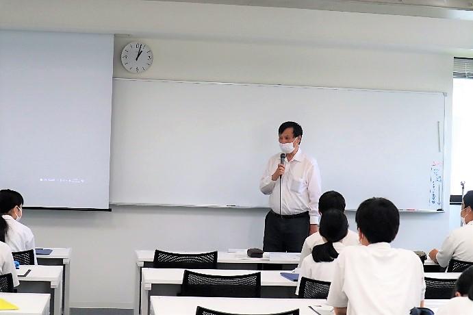 加藤 直樹 社会情報科学部長